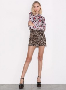 J'AIMÉ ANIMAL PRINT SKIRT