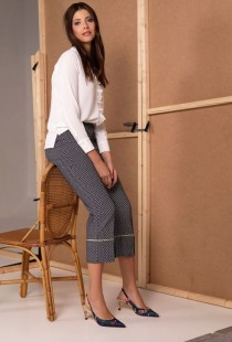 MIETTE SPOTTED TROUSERS