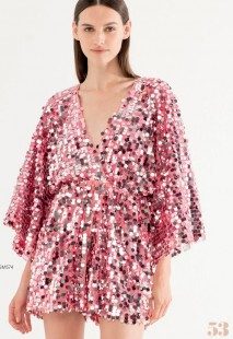 FRACOMINA SEQUINS DRESS