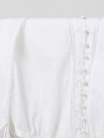Blusa algodón con vainicas