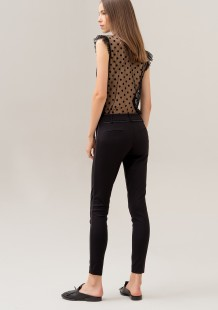 FRACOMINA PANTS SUPER SKINNY FIT MADE WITH SUPER STRETCH FABRIC