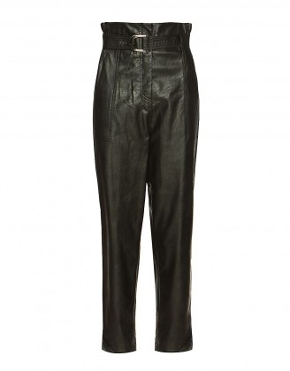 BSB LEATHER LOOK TROUSERS