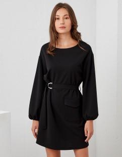 BSB DRESS WITH BELT